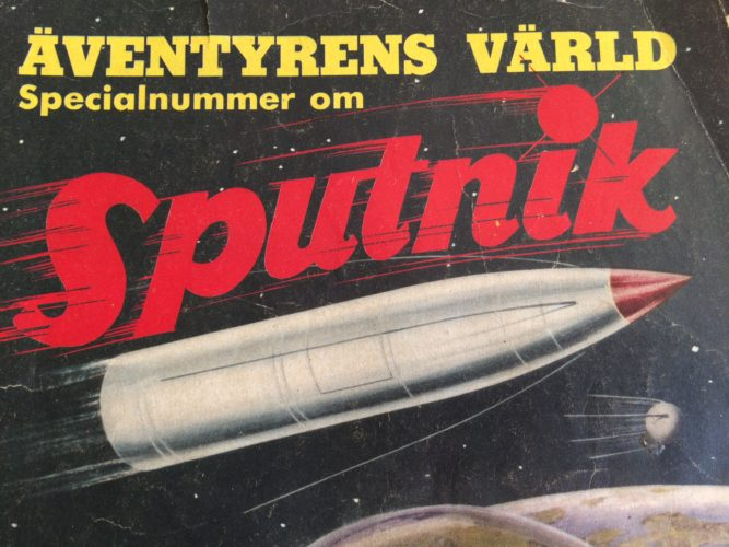 Sputnik för 60 år sedan.