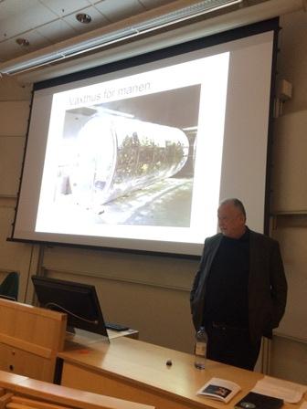Föredrag i Umeå på astrobiologi-konferens.