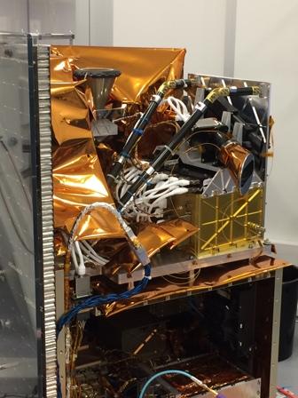 Sveriges nya satellit MATS.