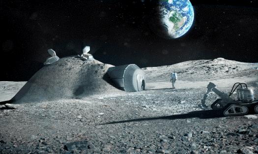 Bygga, bo och leva i rymden – en nyårsspaning